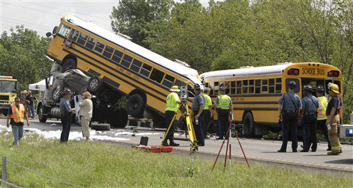 School Bus Accident Photo