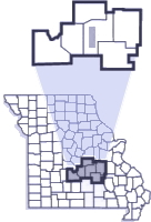 Troop I County Map
