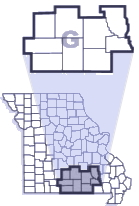 Troop G County Map