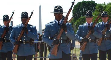 Troop E Honor Guard Competes In Washington, D.C.
